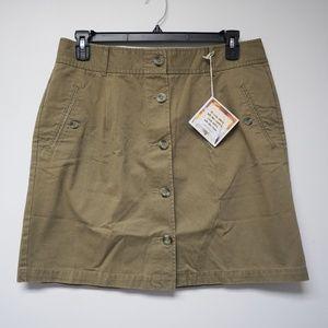 Dockers Alpha khaki skirt